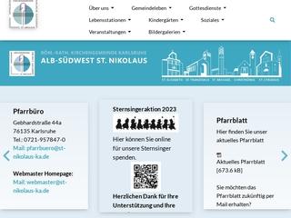 Vorschaubild der Webseite von Katholischer Kindergarten St. Hildegard