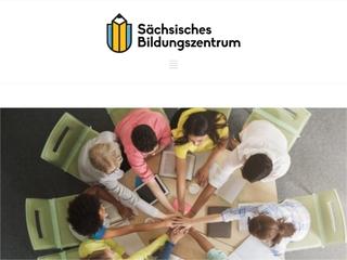 Vorschaubild der Webseite von Sächsischen Bildungszentrums e. V.