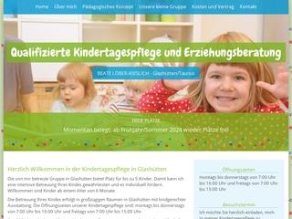 Vorschaubild der Webseite von Tagesmutter Beate Löber-Kieslich
