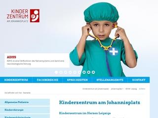 Vorschaubild der Webseite von Kinderchirurgie Dr. med. Detlef Brock / Dr. Tino Elouahidi