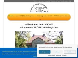 Vorschaubild der Webseite von Kindertageseinrichtung