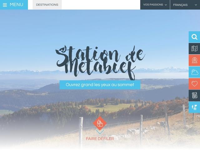 Station de Métabief - Office de tourisme de Métabief