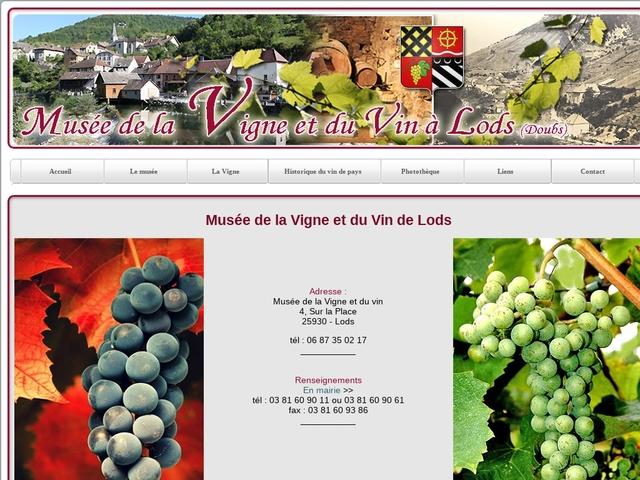Musée de la Vigne et du Vin Lods