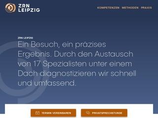 Vorschaubild der Webseite von ZRN Leipzig - Zentrum für Radiologie und Nuklearmedizin am Johannisplatz - Fachärztin für Radiologie und Nuklearmed