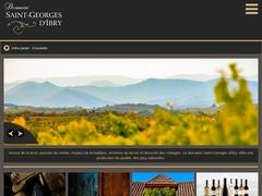 Les vins du domaine Saint Georges d'Ibry