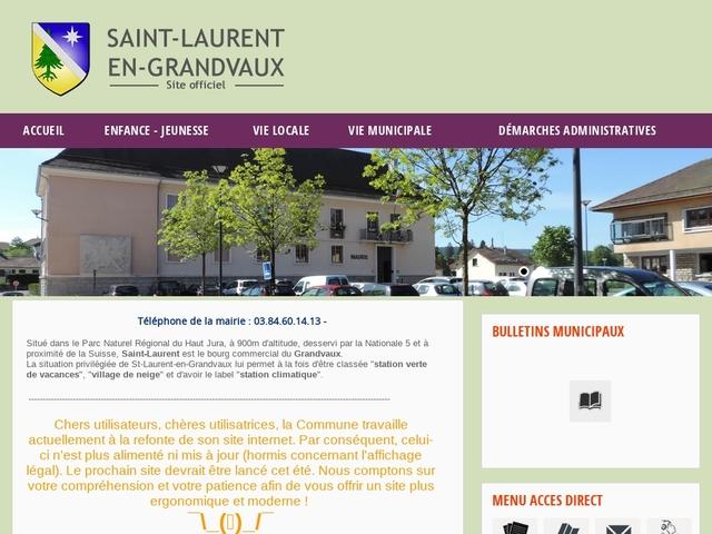 Saint-Laurent en Grandvaux
