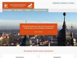 Vorschaubild der Webseite Christliche Medienbibliothek St. Jakobsgemeinde Köthen