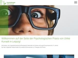 Vorschaubild der Webseite von Kindertherapie Leipzig