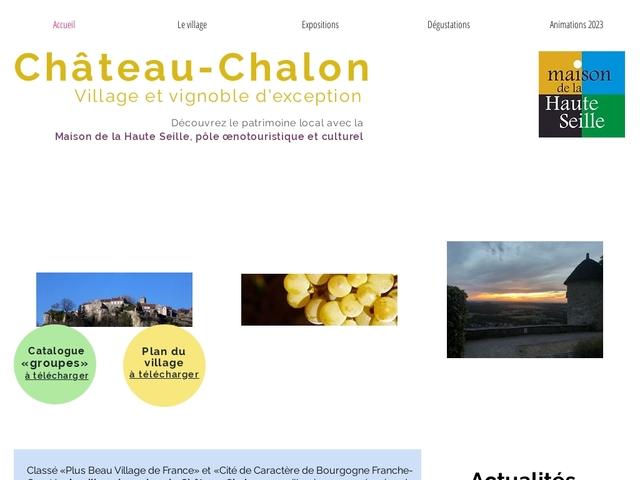 Office de tourisme de Château-Chalon