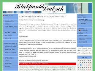 Vorschaubild der Webseite von Bürgerverein Leutzsch e.V.