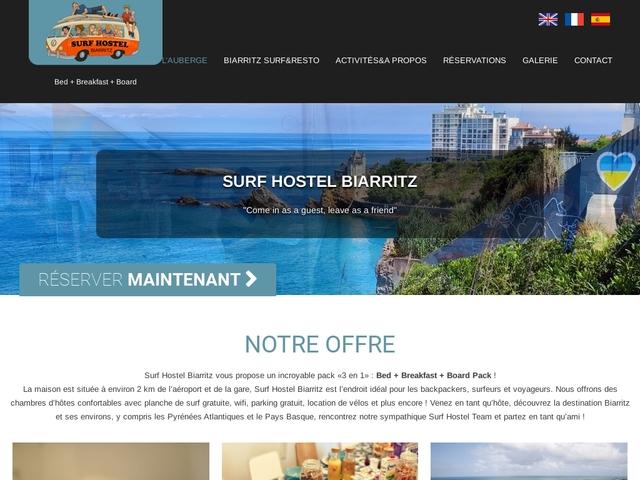 Surf Hostel Biarritz | Chambres d'hôtes et Surf Camp
