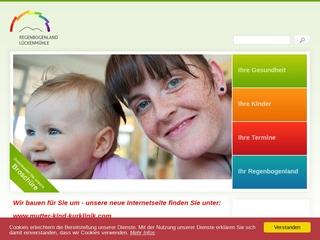 Vorschaubild der Webseite Versorge- und Rehabilitationsklinik für Mutter und Kind Regenbogenland Lückenmühle