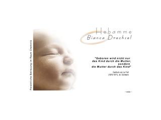 Vorschaubild der Webseite von Hebamme Bianca Drechsel