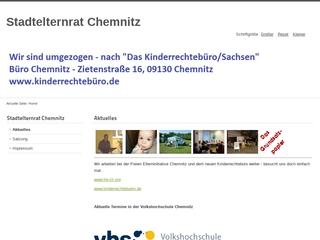 Vorschaubild der Webseite von Stadtelternbeirat Chemnitz