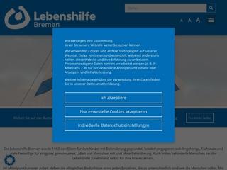 Vorschaubild der Webseite von Wohntraining der Lebenshilfe Bremen