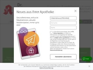 Vorschaubild der Webseite von Dr. Oehms Apotheke