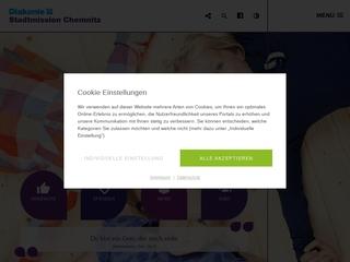 Vorschaubild der Webseite von Tagestreff für Wohnungslose