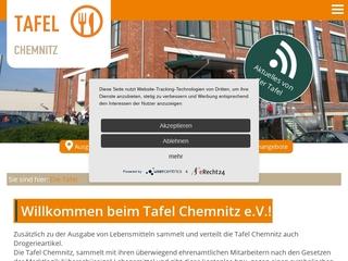 Vorschaubild der Webseite von Chemnitzer Tafel e.V.