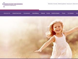 Vorschaubild der Webseite von Evangelisches Kinderhaus Regenbogen