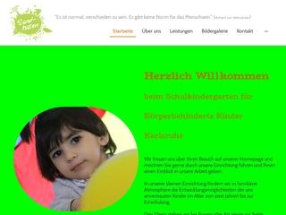 Vorschaubild der Webseite von Schulkindergarten für Körperbehinderte