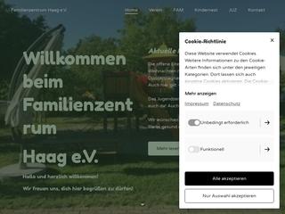 Vorschaubild der Webseite von Familienzentrum Haag