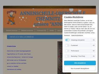 Vorschaubild der Webseite von Annenschule