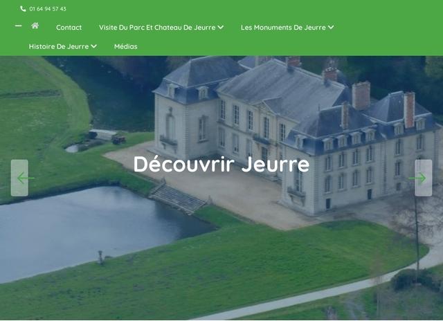 Parc de Jeurre et ses monuments