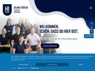 Vorschaubild der Webseite von Helmut Rödler Berufsschule für Krankengymnastik/Physiotherapie gGmbH Chemnitz