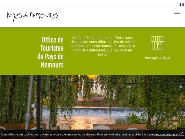 Office de tourisme pays de Nemours