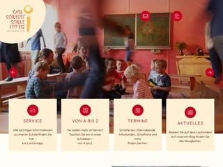 Vorschaubild der Webseite von Karl Schubert Schule Leipzig - Freie Waldorfschule
