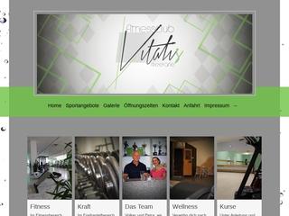 Vorschaubild der Webseite von Fitness-Club Vitalis