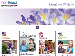 Vorschaubild der Webseite von Familienzentrum Friedenskapelle