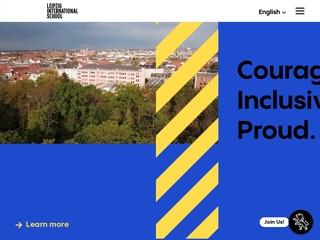 Vorschaubild der Webseite von Leipzig International School Grundschule