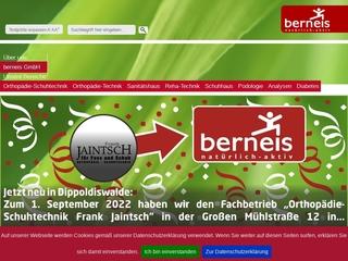 Vorschaubild der Webseite von Podologische Praxis Berneis GmbH