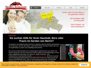 Vorschaubild der Webseite von Steffis Senioren- und Familienservice