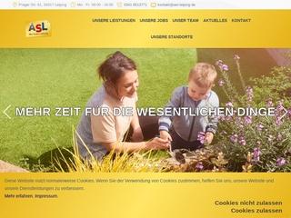 Vorschaubild der Webseite von ASL - Alles Saubere Leistung-GmbH