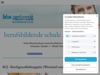 Vorschaubild der Webseite von Berufsbildende Schule Gerd Conde