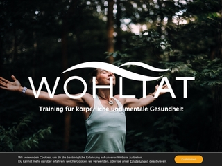 Vorschaubild der Webseite von Personal Training, Firmenfitness & Massage
