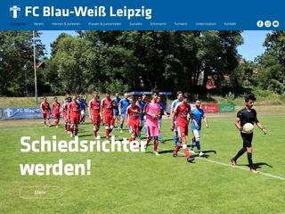 Vorschaubild der Webseite von Verein für Körperkultur Blau-Weiß Leipzig 1892 e.V.