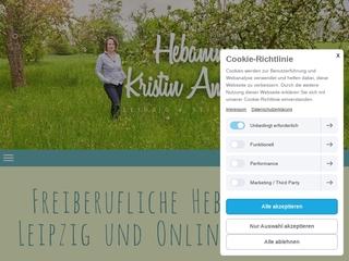 Vorschaubild der Webseite von Hebamme Kristin Ameling
