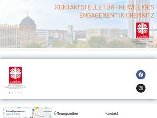 Vorschaubild der Webseite von Freiwilligenzentrum - Kontaktstelle für freiwilliges Engagement