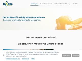 Vorschaubild der Webseite von Fit trotz Stress