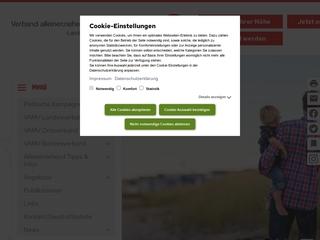 Vorschaubild der Webseite von Verband Alleinerziehender Mütter und Väter Landesverband Brandenburg e. V.