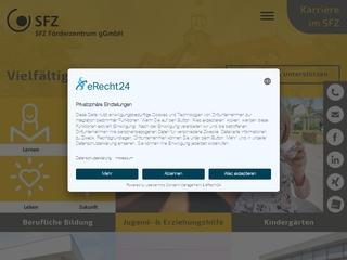 Vorschaubild der Webseite von Berufsschule der Berufsbildungswerk für Blinde und Sehbehinderte Chemnitz GmbH