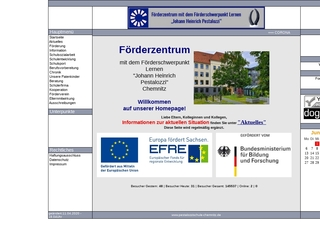 Vorschaubild der Webseite von J.-H.-Pestalozzi-Schule - Schule zur Lernförderung