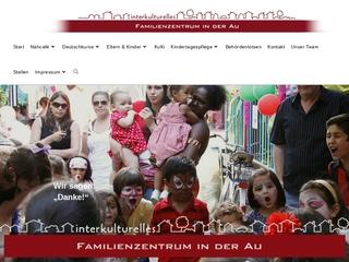 Vorschaubild der Webseite von Familienzentrum in der Au