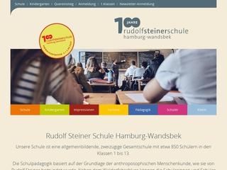 Vorschaubild der Webseite Waldorfkindergarten Tonndorf