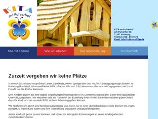 Vorschaubild der Webseite Kindertagesstätte Petra Schiffler