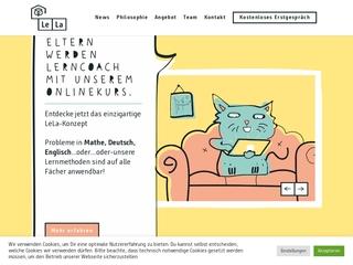 Vorschaubild der Webseite von Lela Leipzig - 1:1 Lernpersönlichkeitsentwicklung