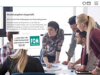 Vorschaubild der Webseite von Hanseatische VWA Verwaltungs- und Wirtschaftsakademie gGmbH